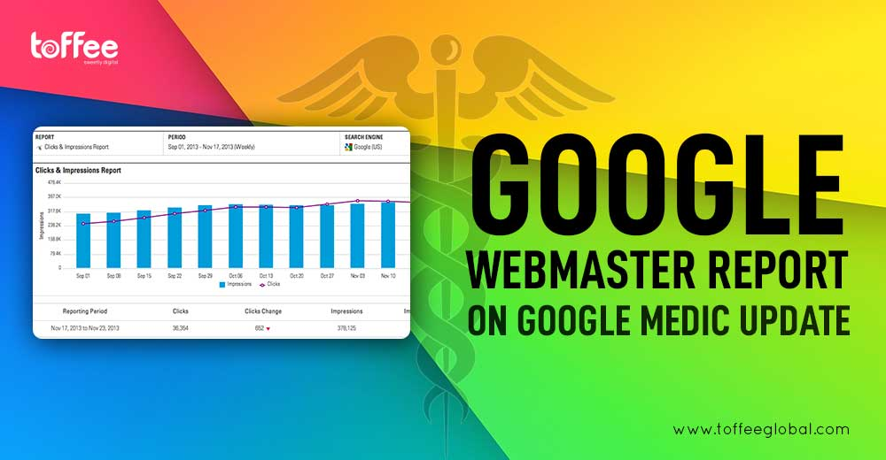 Google Webmaster Report on Google Medic Update